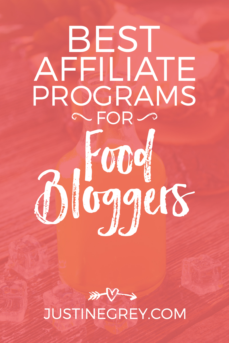 48 Best Affiliate Programs for Food Bloggers