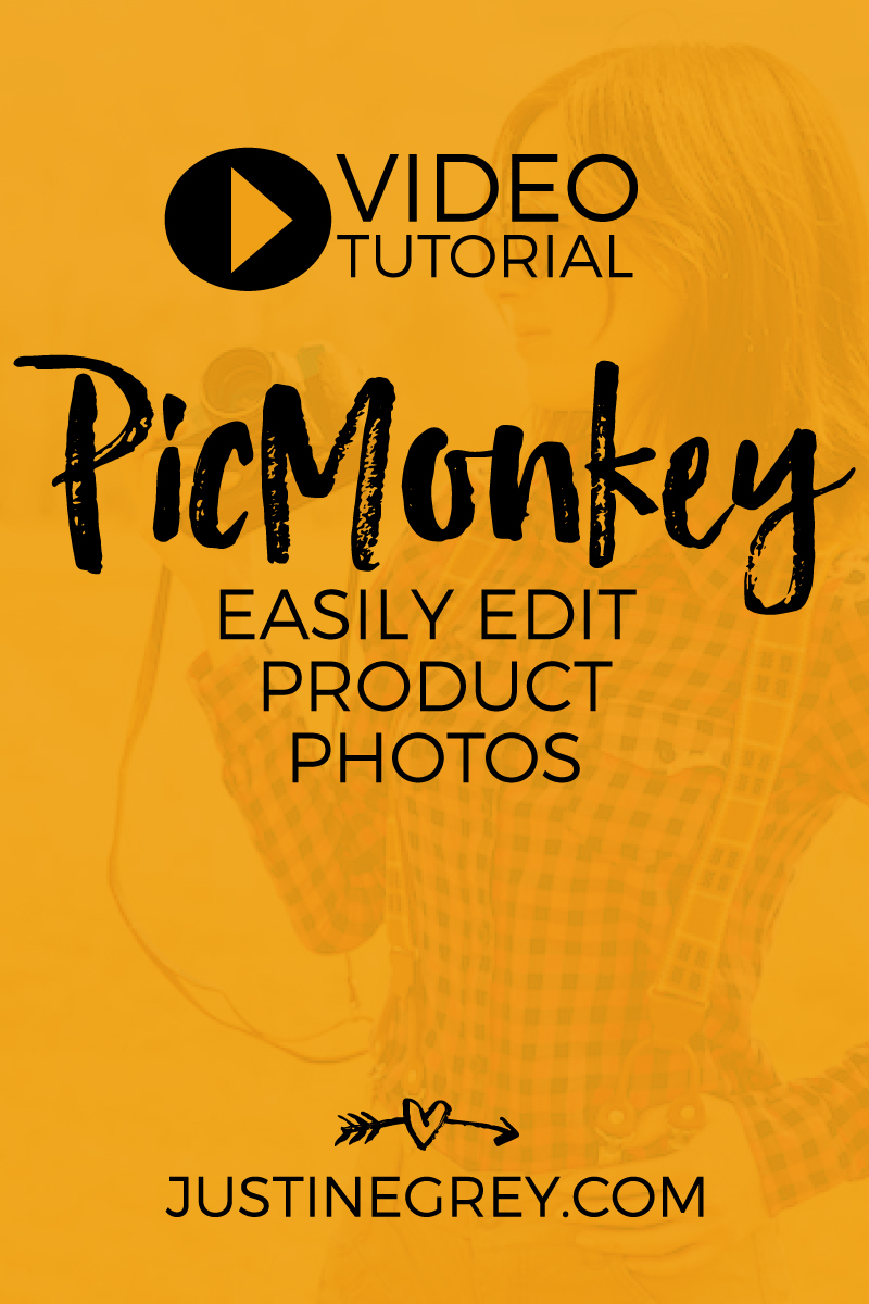 PicMonkey Tutorial - Easily Edit Product Photos