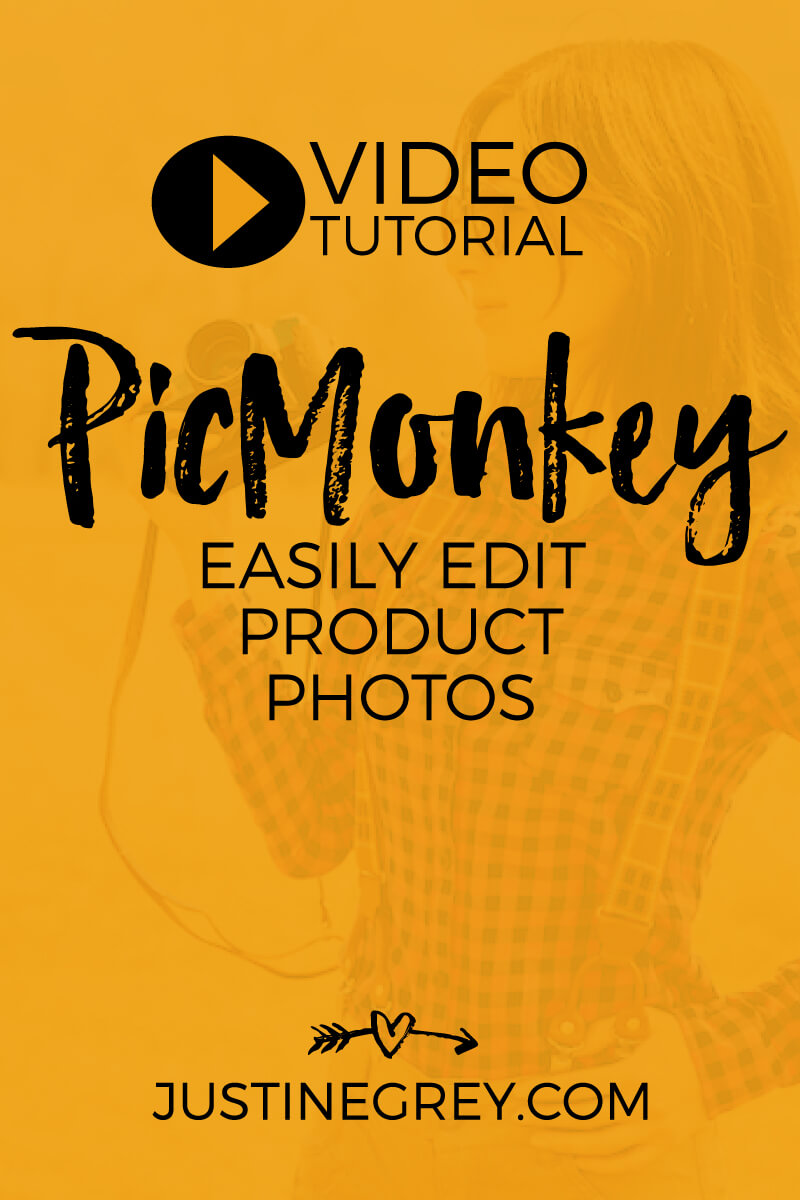 PicMonkey Tutorial - Easily Edit Product Photos