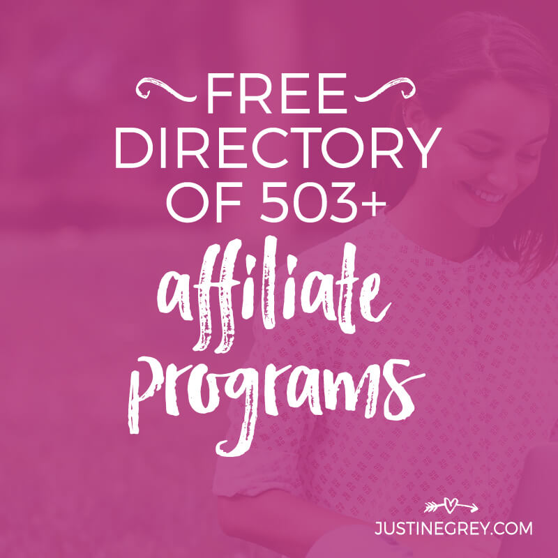 503+ Affiliate Programs for Bloggers and Content Creators