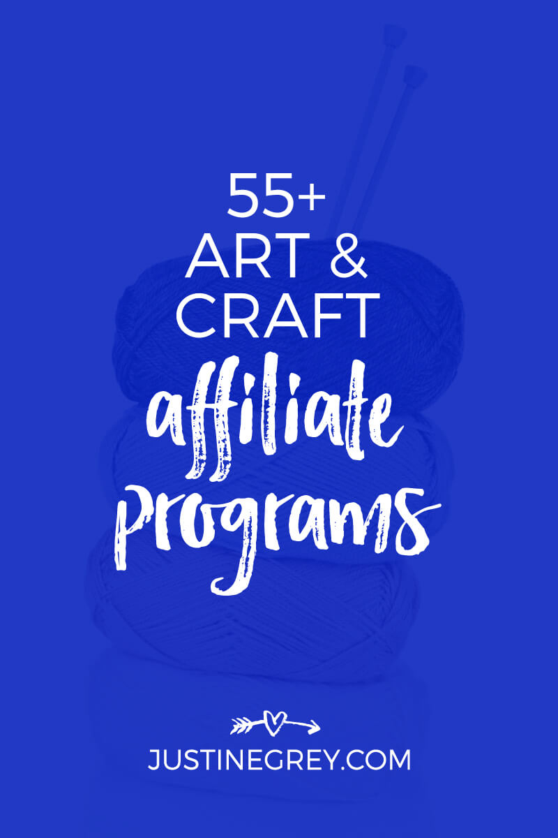 55+ Art Affiliate Programs for Crafty and Creative Bloggers