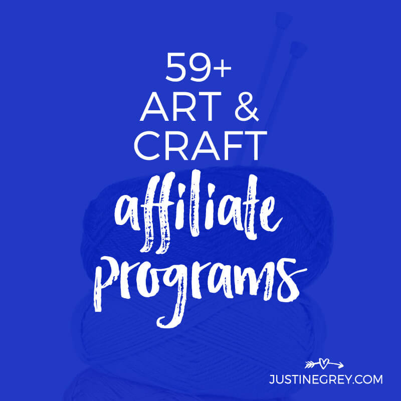 59+ Art Affiliate Programs for Crafty and Creative Bloggers