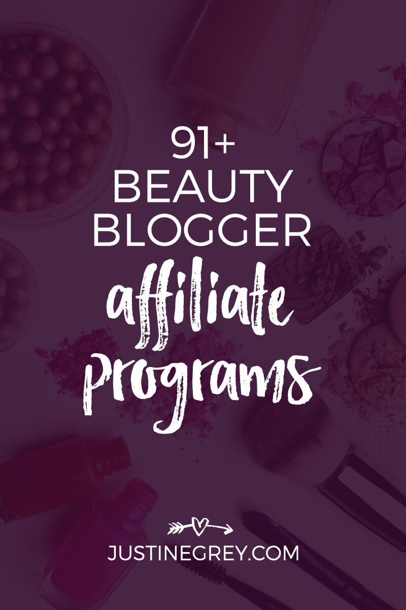 91 Beauty Affiliate Programs For Makeup And Beauty Bloggers