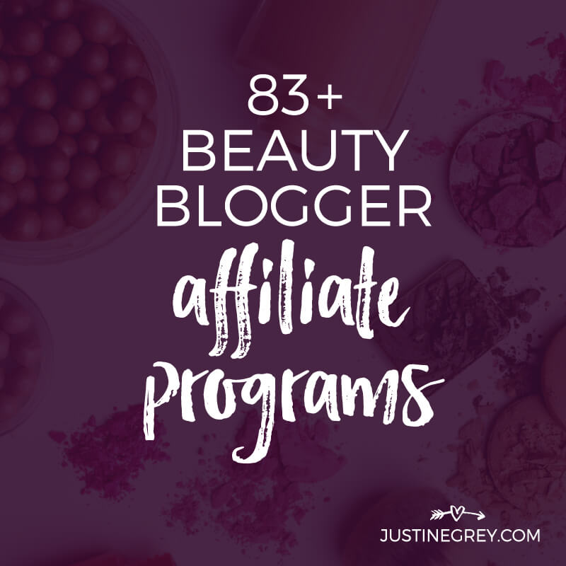 83+ Beauty Affiliate Programs for Makeup and Beauty Bloggers