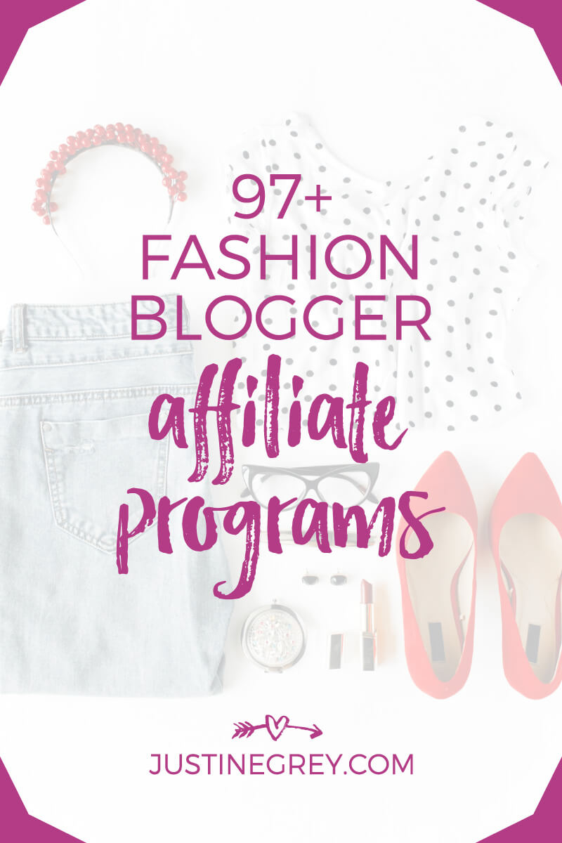 97+ Fashion Affiliate Programs You Can Work With Directly