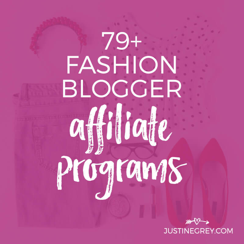 79+ Fashion Affiliate Programs You Can Work With Directly