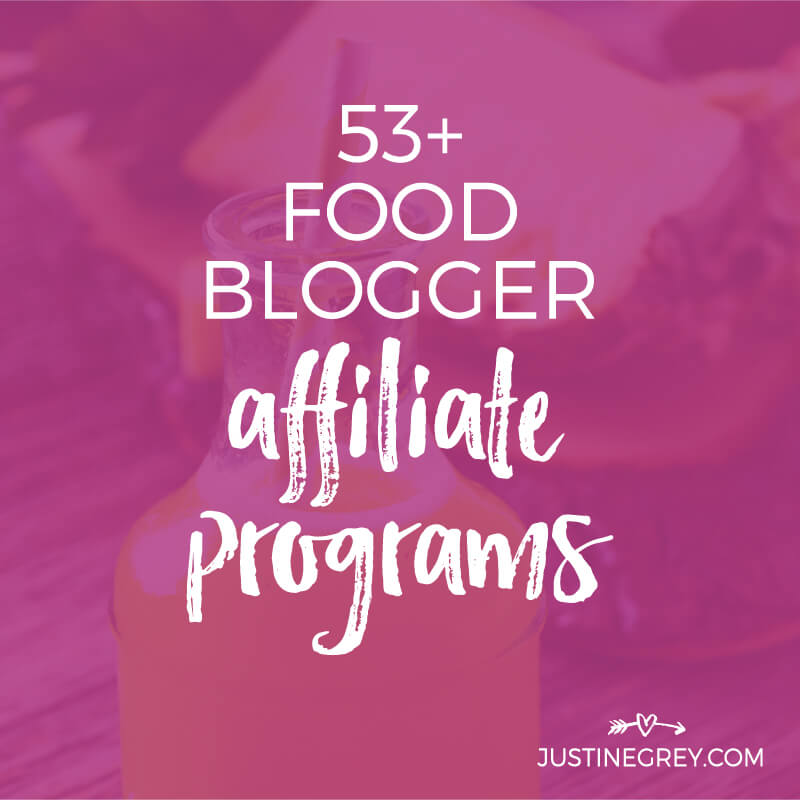 53+ Food Affiliate Programs for Bloggers and Content Creators